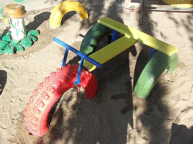 Идеи для детских площадок своими руками в детском саду фото