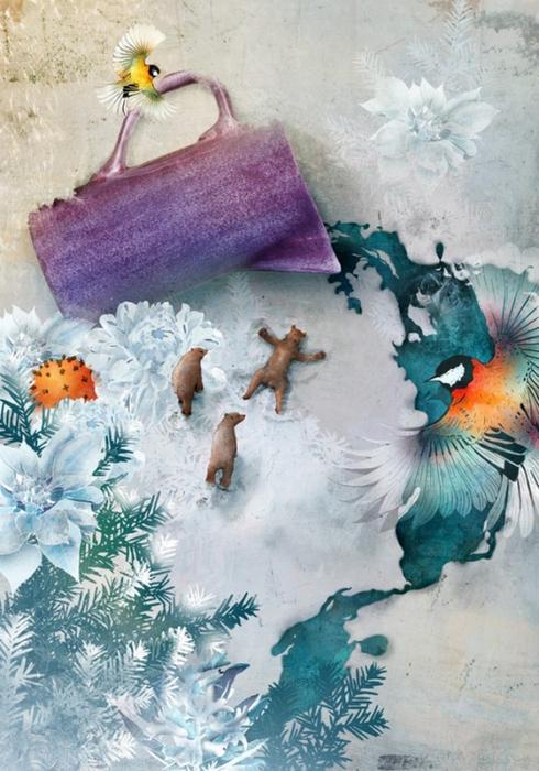 Красочные фэшн иллюстрации Linn Olofsdotter 8 (490x700, 385Kb)