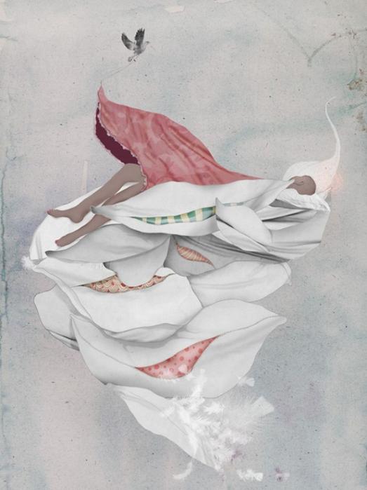 Красочные фэшн иллюстрации Linn Olofsdotter 25 (523x700, 258Kb)