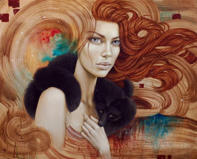 Ее картины изображают эмоционально сложные физические лица, одновременно гордые, с чувством собственного достоинства...