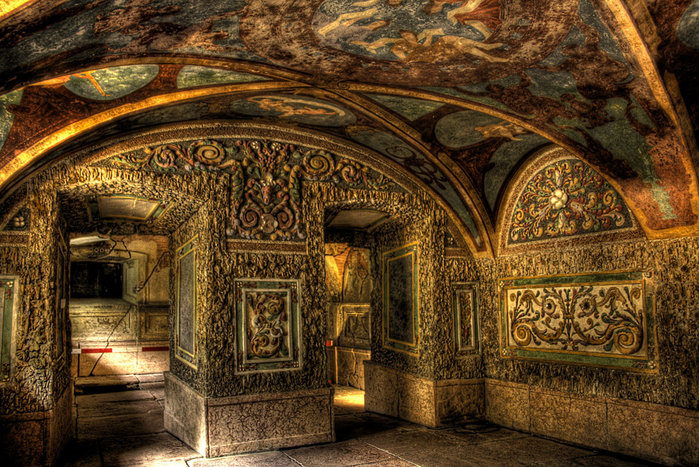 Дворец Хельбрунн - часть 1 95949
