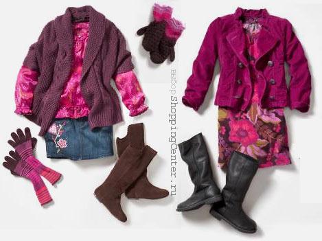 Модная зимняя одежда детям