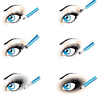 Схема нанесения макияж в стиле smoky eyes на глаза. wpid x ef7eb50c Схема нанесения макияж в стиле smoky eyes на глаза.