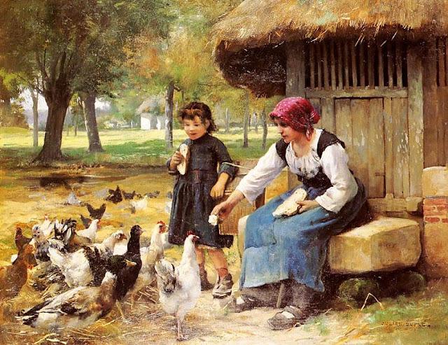 Feeding Time,  by Julien Dupre (640x493, 159Kb)