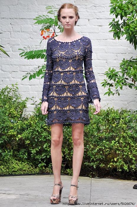 мода на летнее платье 2012