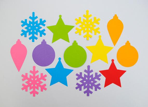 Новогодние поделки украшения из бумаги своими руками