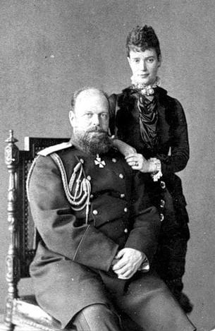 Мария Федоровна и Александр III (305x469, 50Kb)