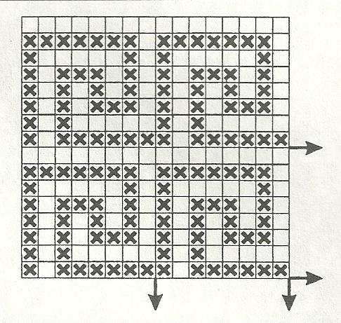 Часть 17 - Филейное вязание