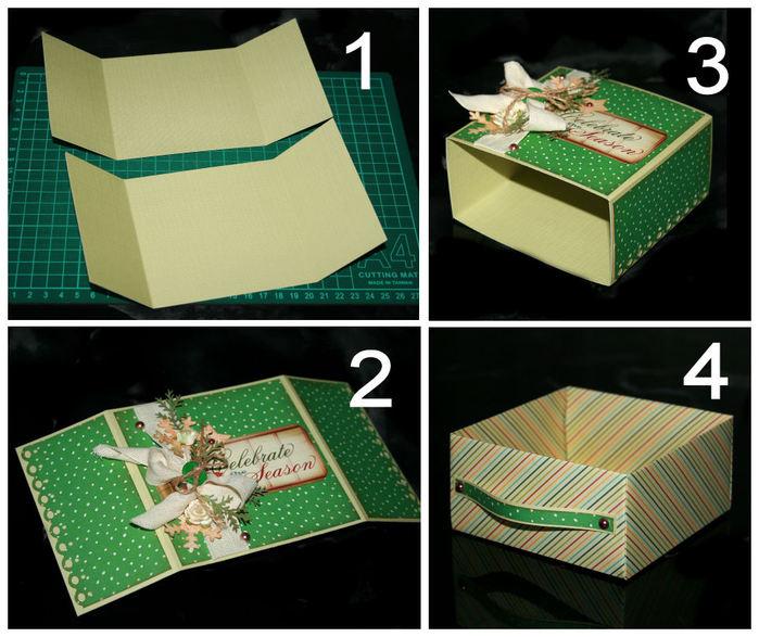 Как красиво сделать коробочку
