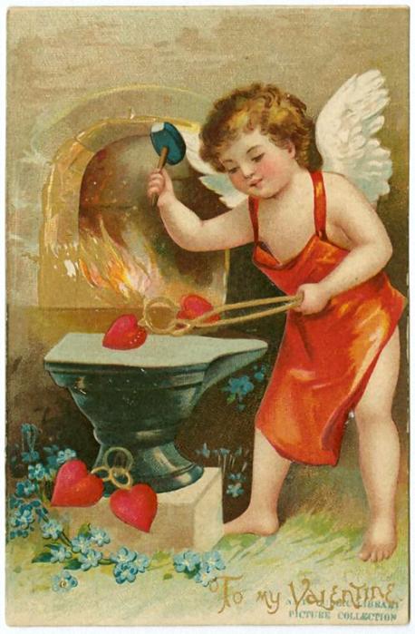 Открытки святой валентин