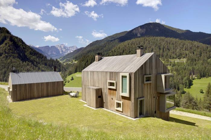 проект красивого частного дома (700x466, 158Kb)