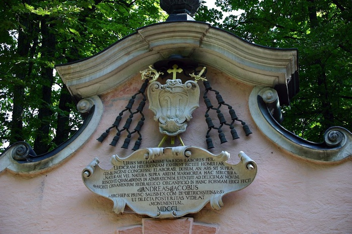 Дворец Хельбрунн - часть 2 33555