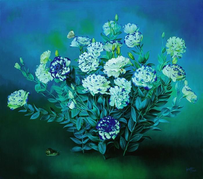 RHAPSODY IN BLUE Oil on canvas 71x81 cms 2005 copy (700x618, 121Kb)