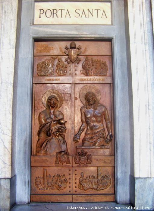 100_4681 Санта-Мария Маджоре. Святые Врата (511x700, 224Kb)