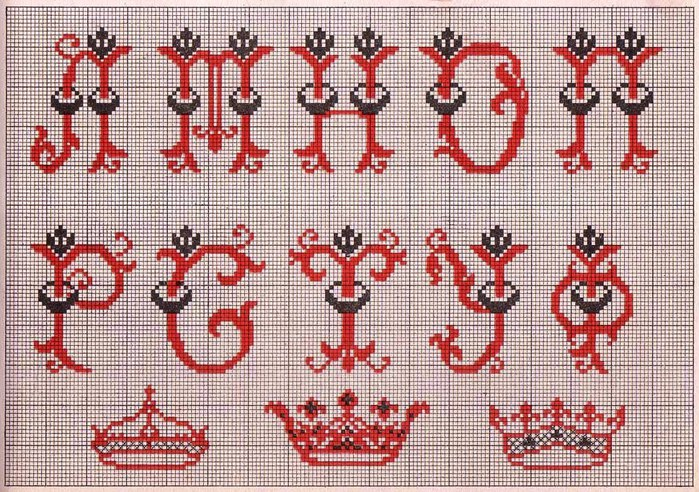 Russian Cross Stitch Alphabets 1_Page_11 (700x492, 164Kb)