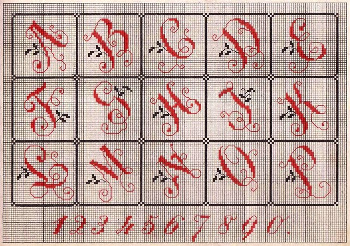 Russian Cross Stitch Alphabets 1_Page_13 (700x492, 166Kb)
