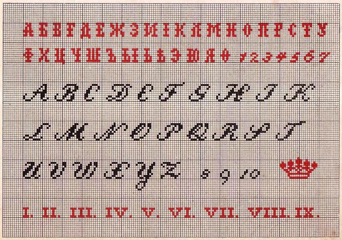 Russian Cross Stitch Alphabets 1_Page_17 (700x492, 157Kb)