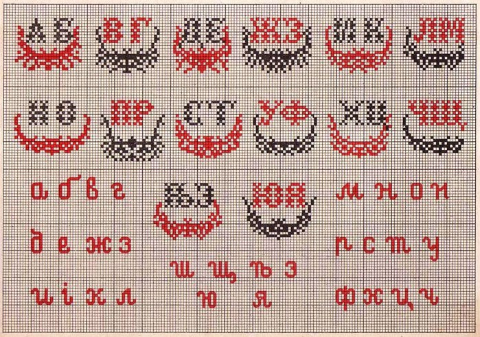 Russian Cross Stitch Alphabets 1_Page_18 (700x492, 165Kb)