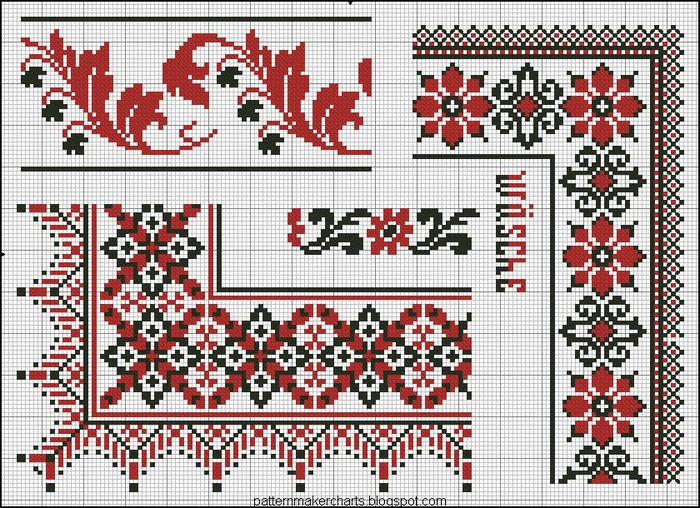 Russian Cross Stitch Alphabets 1 pg 29 (700x508, 208Kb)