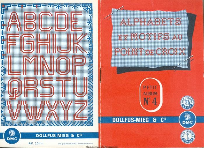 Alphabets et Motifs au Point de Croix N° 4 1 (700x507, 360Kb)