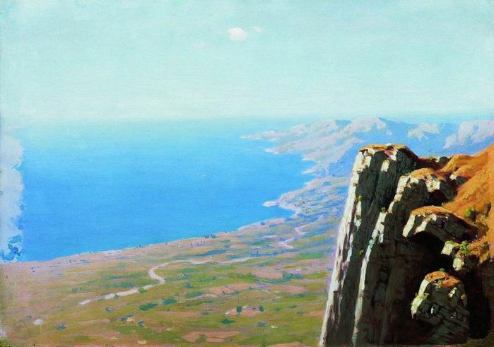 отдых на Чёрном море Крым/3577450_Kyindji (700x491, 106Kb)