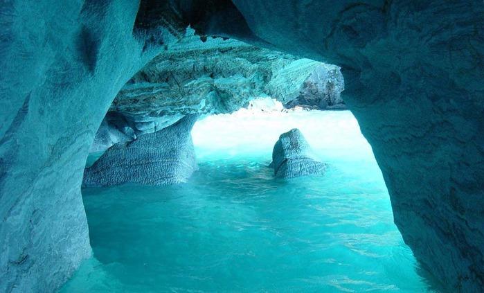 мраморные пещеры патагонии 5 (700x423, 91Kb)