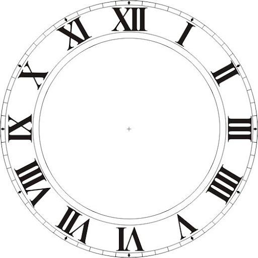Циферблат Часы Фотошоп