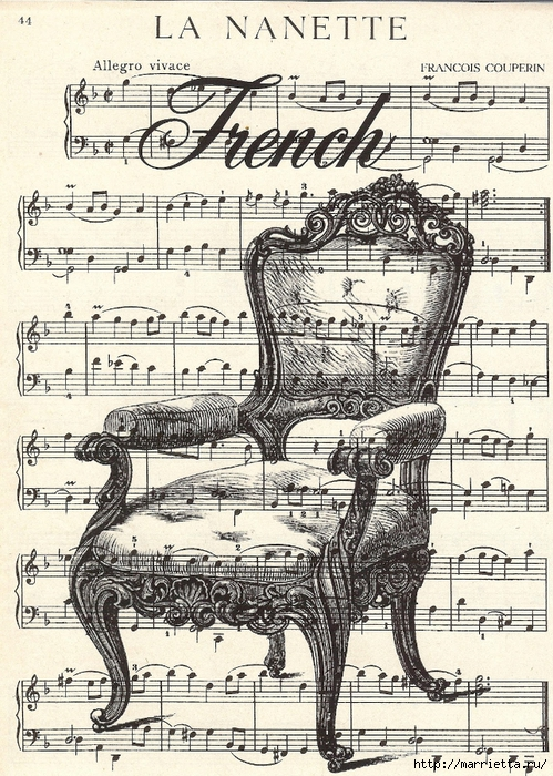 free vintage printable_french chair (499x700, 398Kb)