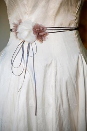 Цветок для платья своими руками фото