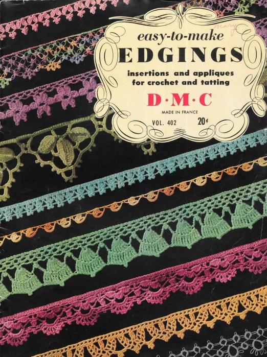 1951 Crochet Easy to make Edgings (522x700, 346Kb)