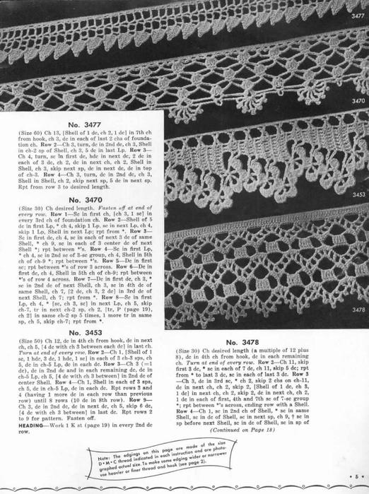 1951 Crochet Easy to make Edgings-5 (522x700, 257Kb)