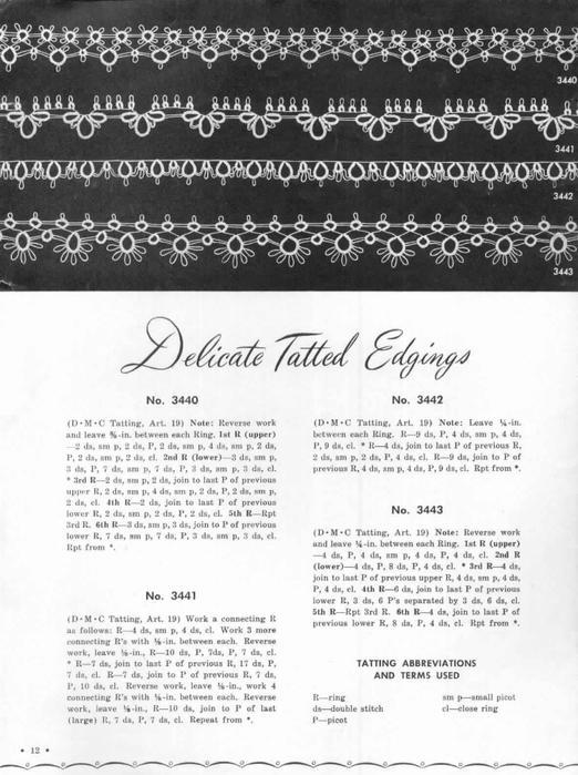 1951 Crochet Easy to make Edgings-12 (522x700, 218Kb)