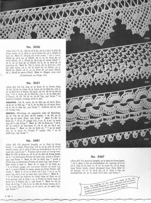 1951 Crochet Easy to make Edgings-14 (522x700, 258Kb)