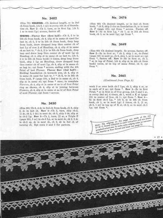 1951 Crochet Easy to make Edgings-17 (522x700, 224Kb)