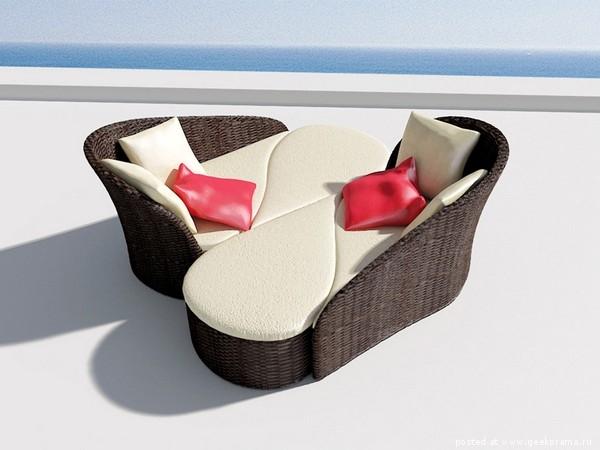 красивая мягкая мебель из ротанга фото 1 (600x450, 114Kb)
