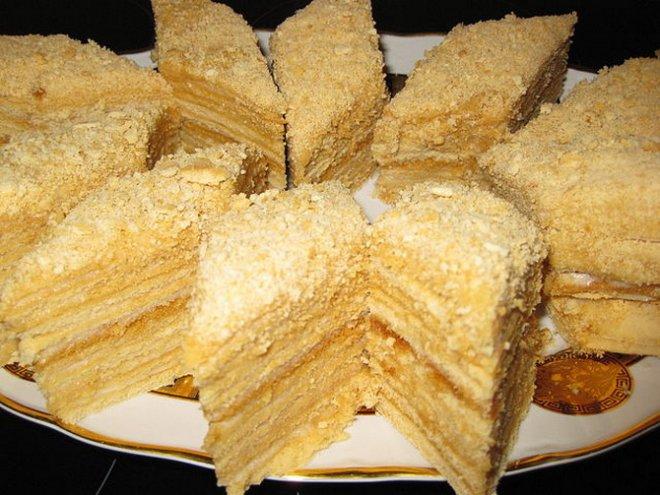 Вкусные рецепты медового торта 122