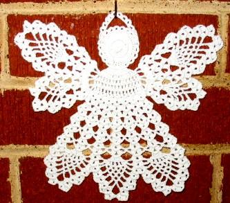 схемы вышивки ангелочка из журнала вяжем шьём вышивыем