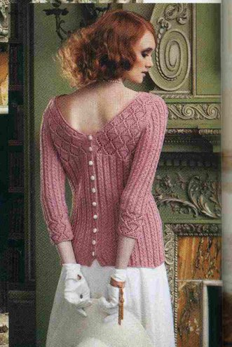пуловер с пуговицами на спинке  (331x494, 49Kb)