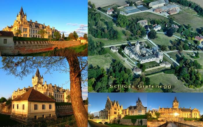 Замок Графенегг - романтичная драгоценность. 32502