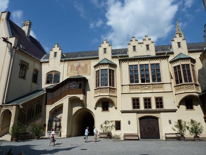 Замок Графенегг - романтичная драгоценность. 81866