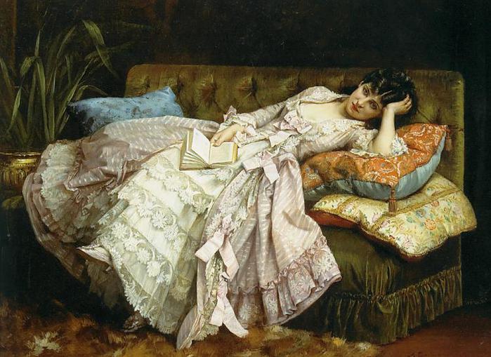 Dolce Far Niente, by Auguste Toulmouche (700x509, 69Kb)