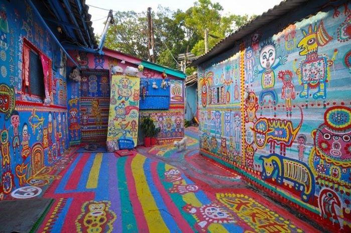 разноцветная деревня в тайване 4 (700x465, 98Kb)