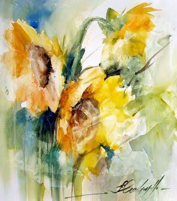 4sunflowers (351x400, 29Kb)