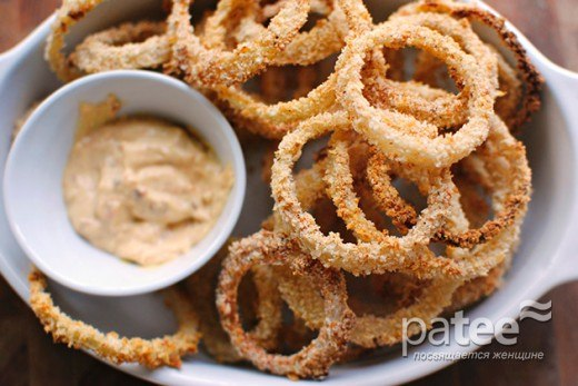 Луковые кольца рецепт с фото пошагово