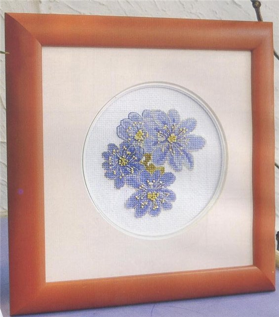 Вышивка цветочная