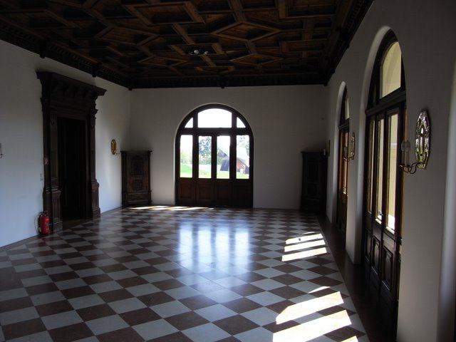 Замок Графенегг - романтичная драгоценность. 37490