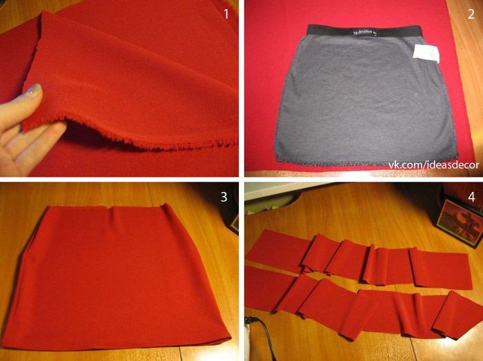 Как сшить своими руками юбку фото