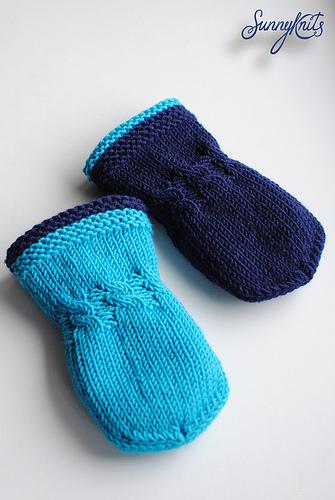 手套织成这样多暖和 - maomao - 我随心动