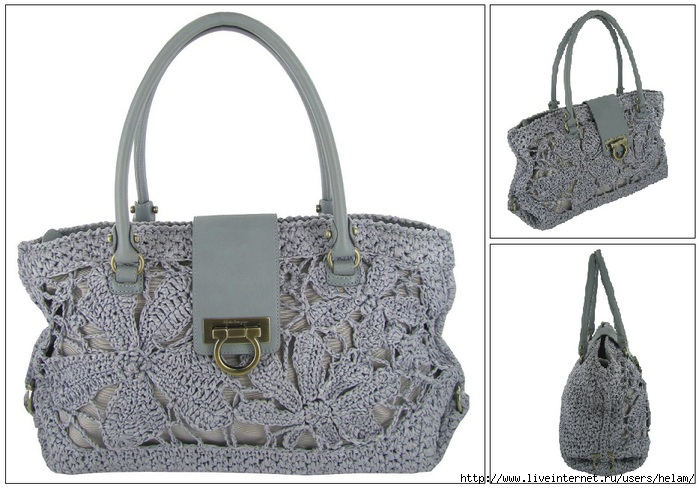 Salvatore Ferragamo Lavender Crochet Shoulder Bag (700x489, 187Kb)