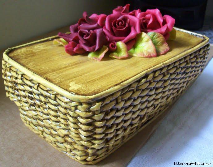 caixa retangular com rosas vermelhas (689x540, 187Kb)